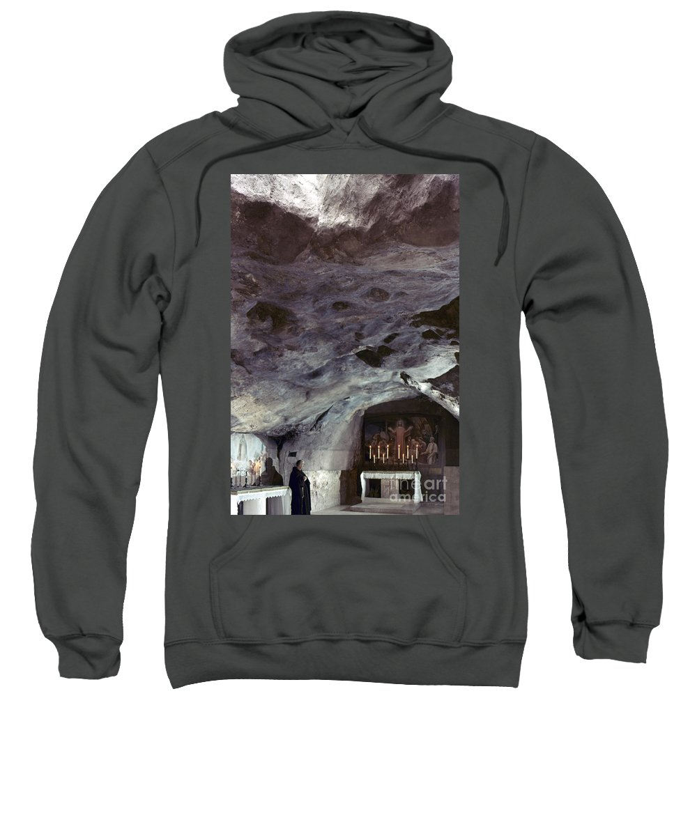 Agony In The Garden Sweatshirt featuring the photograph Holy Land: Gethsemane by Granger