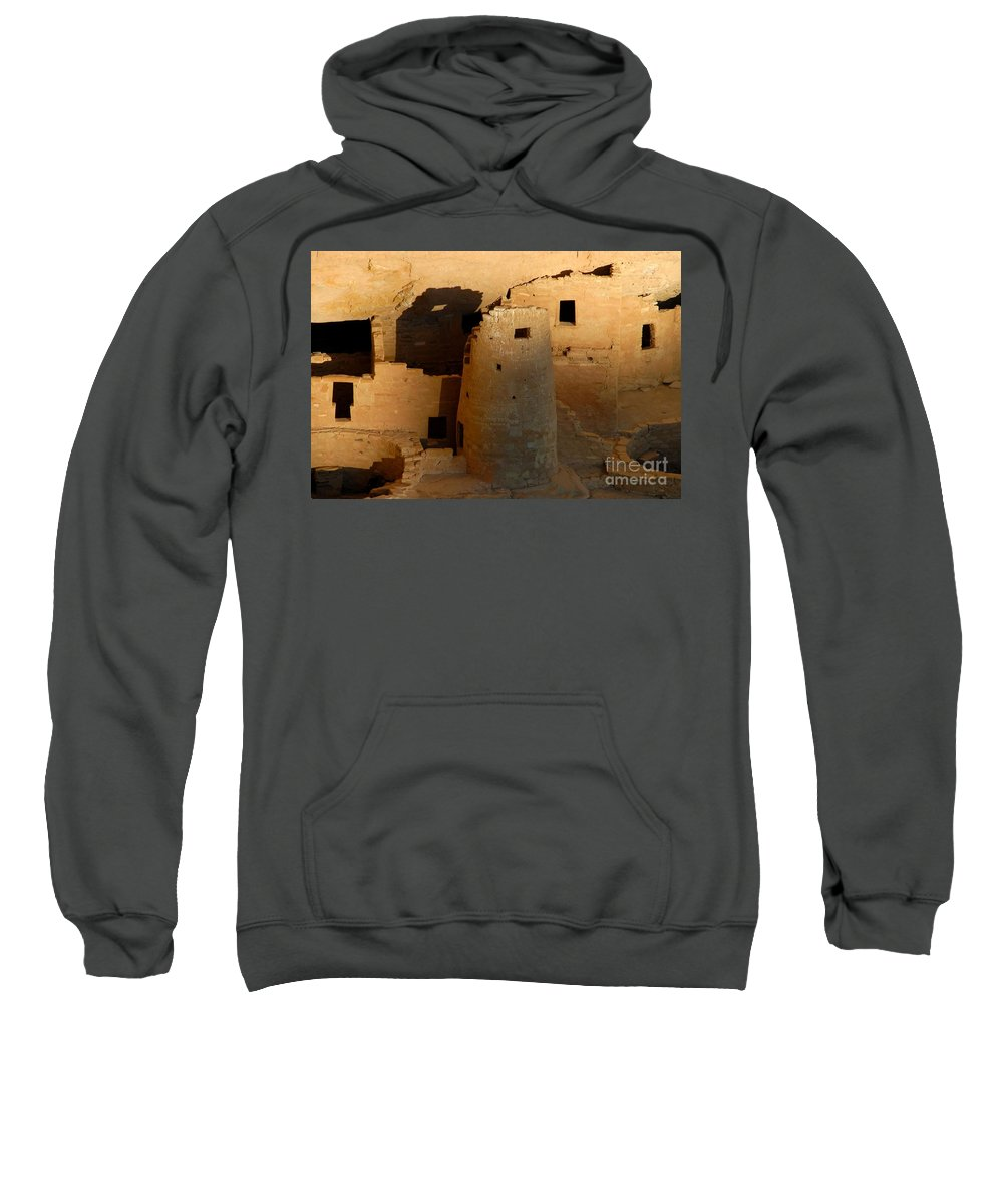 Anasazi Sweatshirt featuring the photograph Home Of The Anasazi by David Lee Thompson