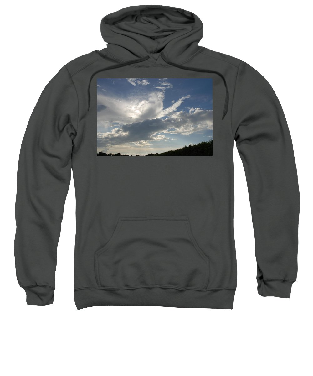 Sky Sweatshirt featuring the photograph Homestead Sky by Rob Hans