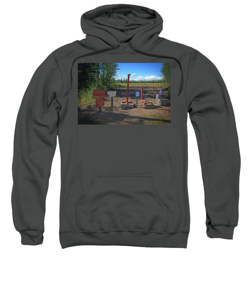 Agriculture Sweatshirt featuring the photograph Honor System by Cathy Mahnke