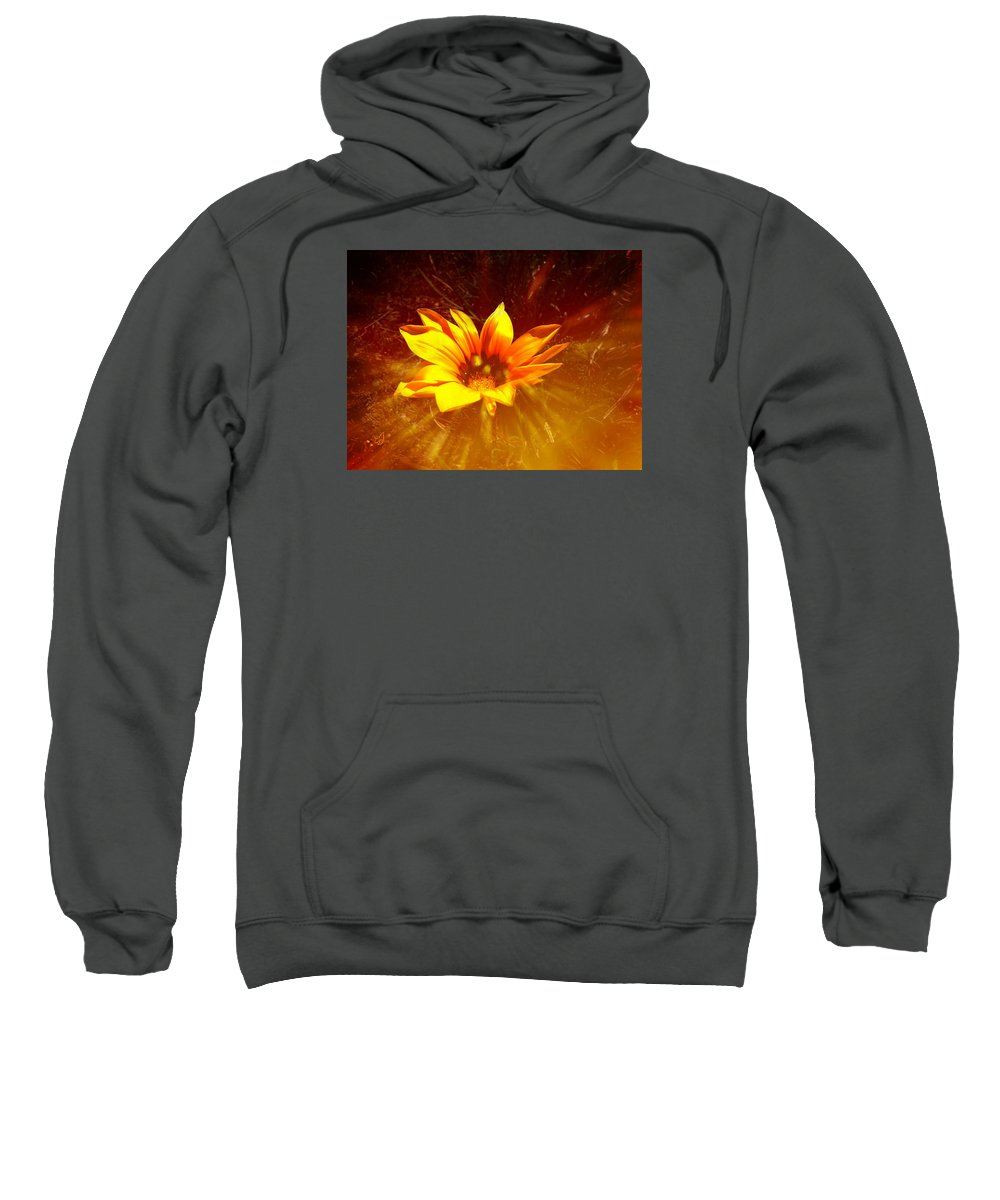 Flower Sweatshirt featuring the photograph Hope by Music of the Heart