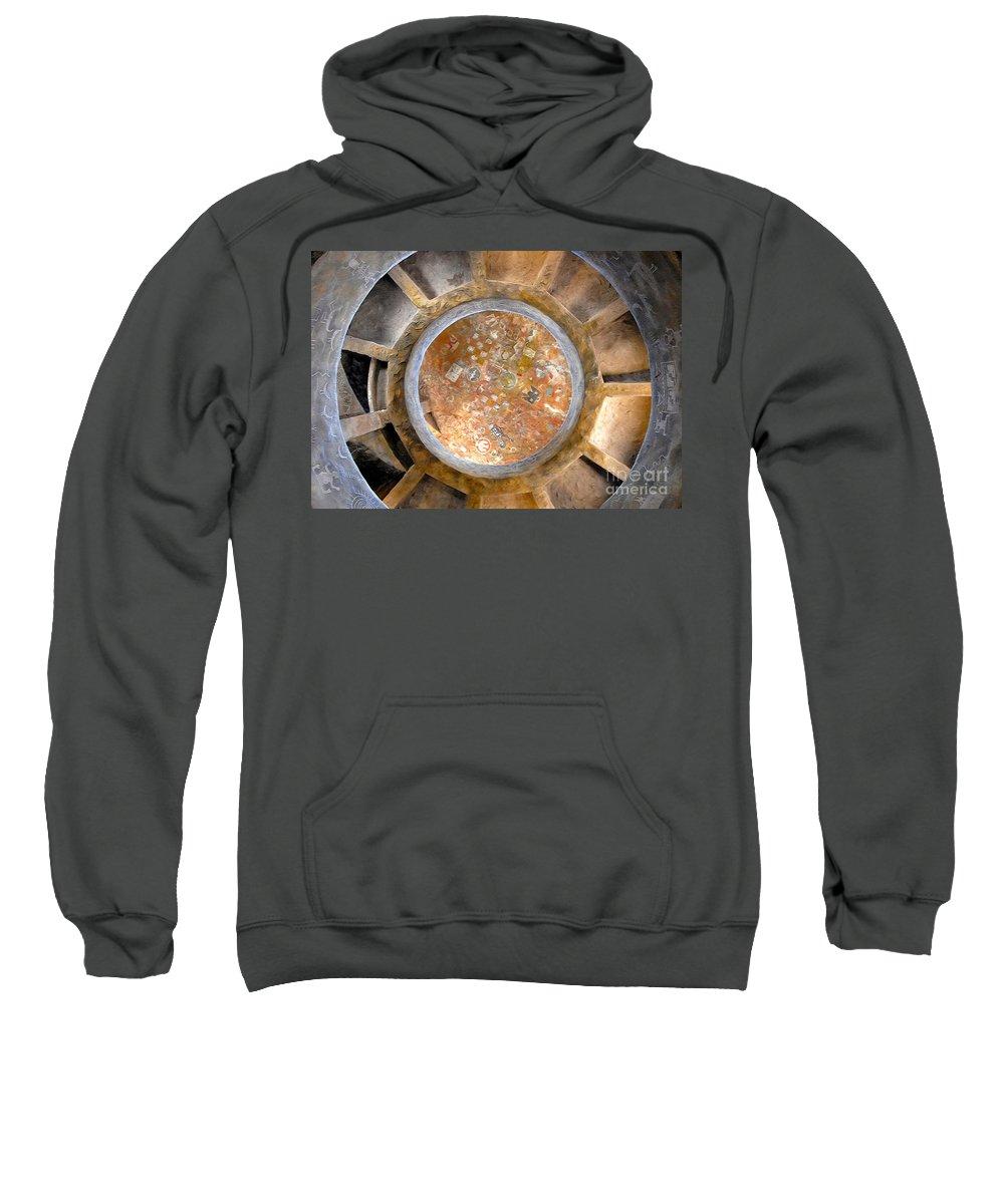 Hopi Indians Sweatshirt featuring the photograph Hopi Spirit Circle by David Lee Thompson