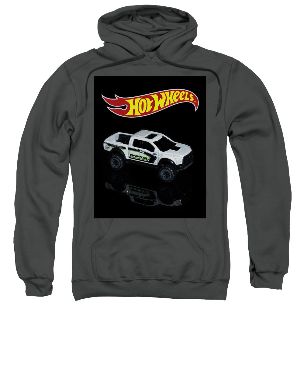 Canon 5d Mark Iv Sweatshirt featuring the photograph Hot Wheels Ford F-150 Raptor by James Sage