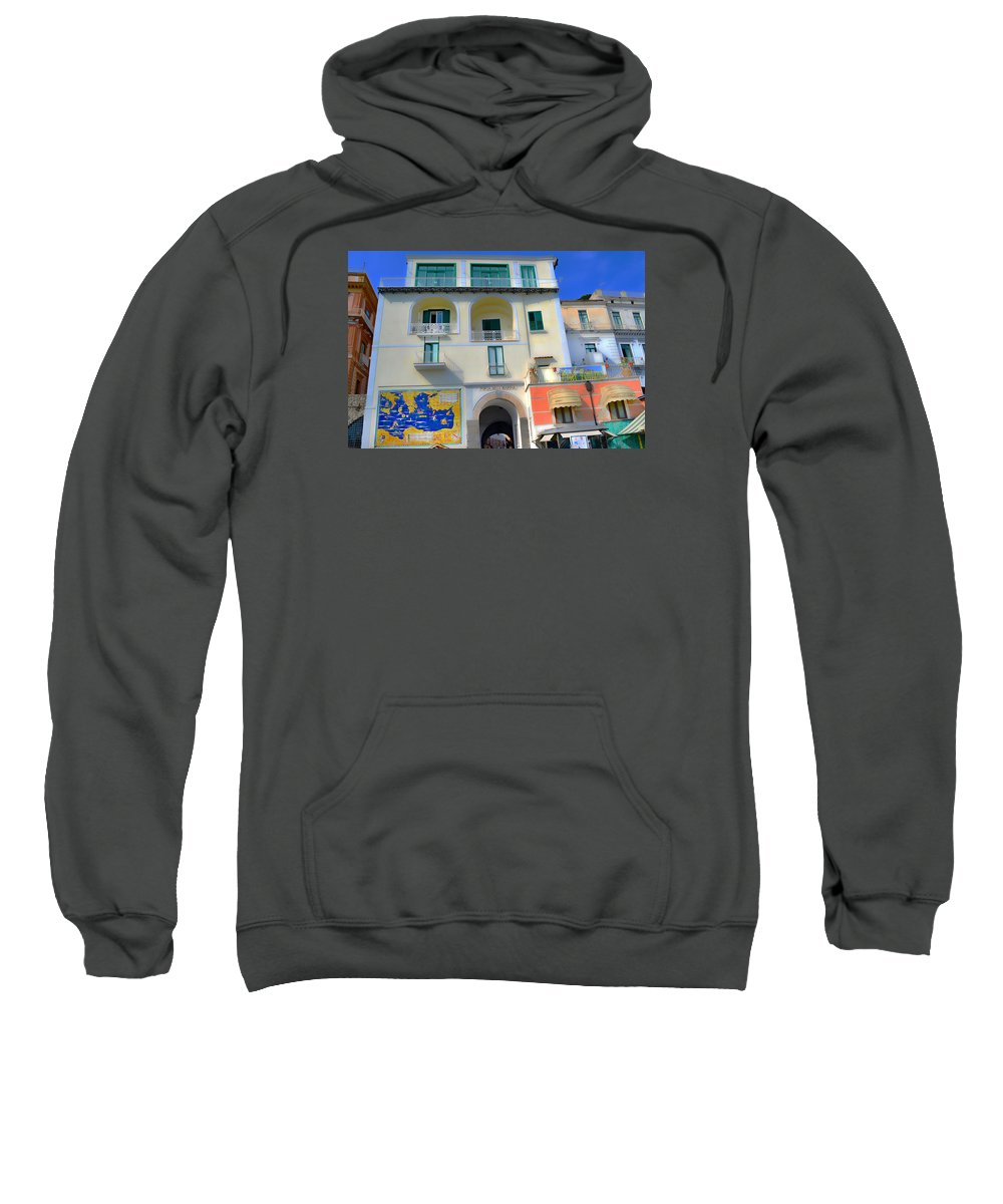Hotel Sweatshirt featuring the photograph Hotel Fontana by Jeffrey Hamilton