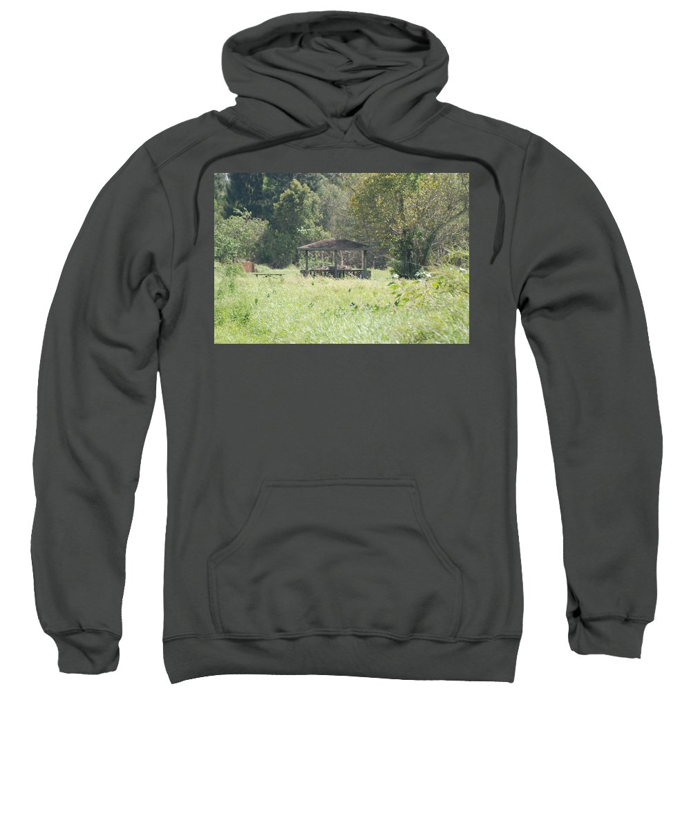 Grass Sweatshirt featuring the photograph Huppa In The Fields by Rob Hans