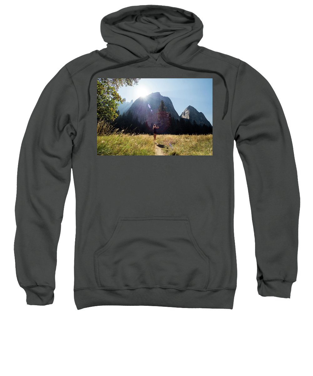 Sweatshirt featuring the photograph I Spy... by Tyler Meester