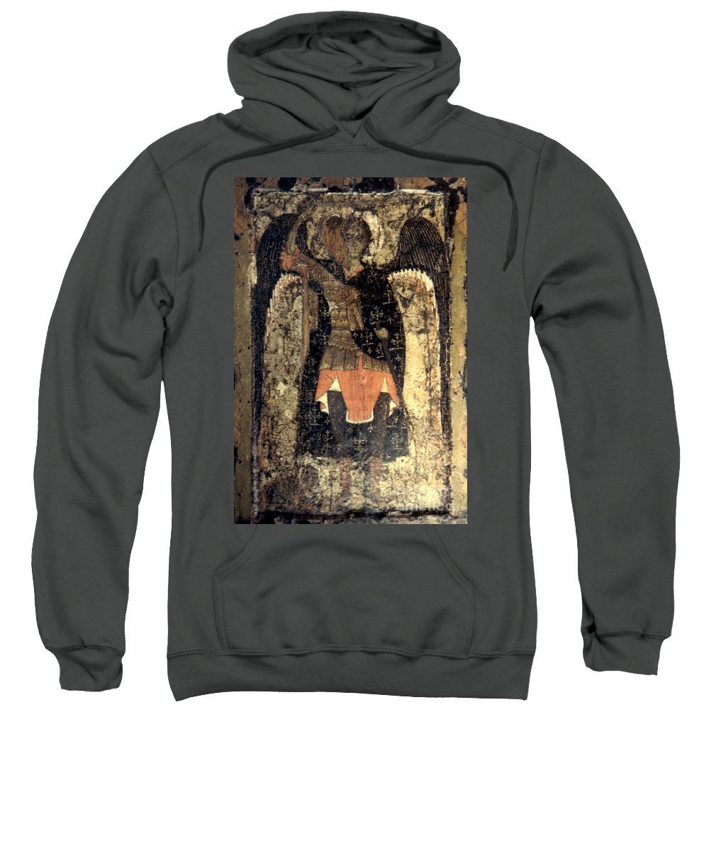 13th Century Sweatshirt featuring the photograph Icon: Assumption Cathedral by Granger