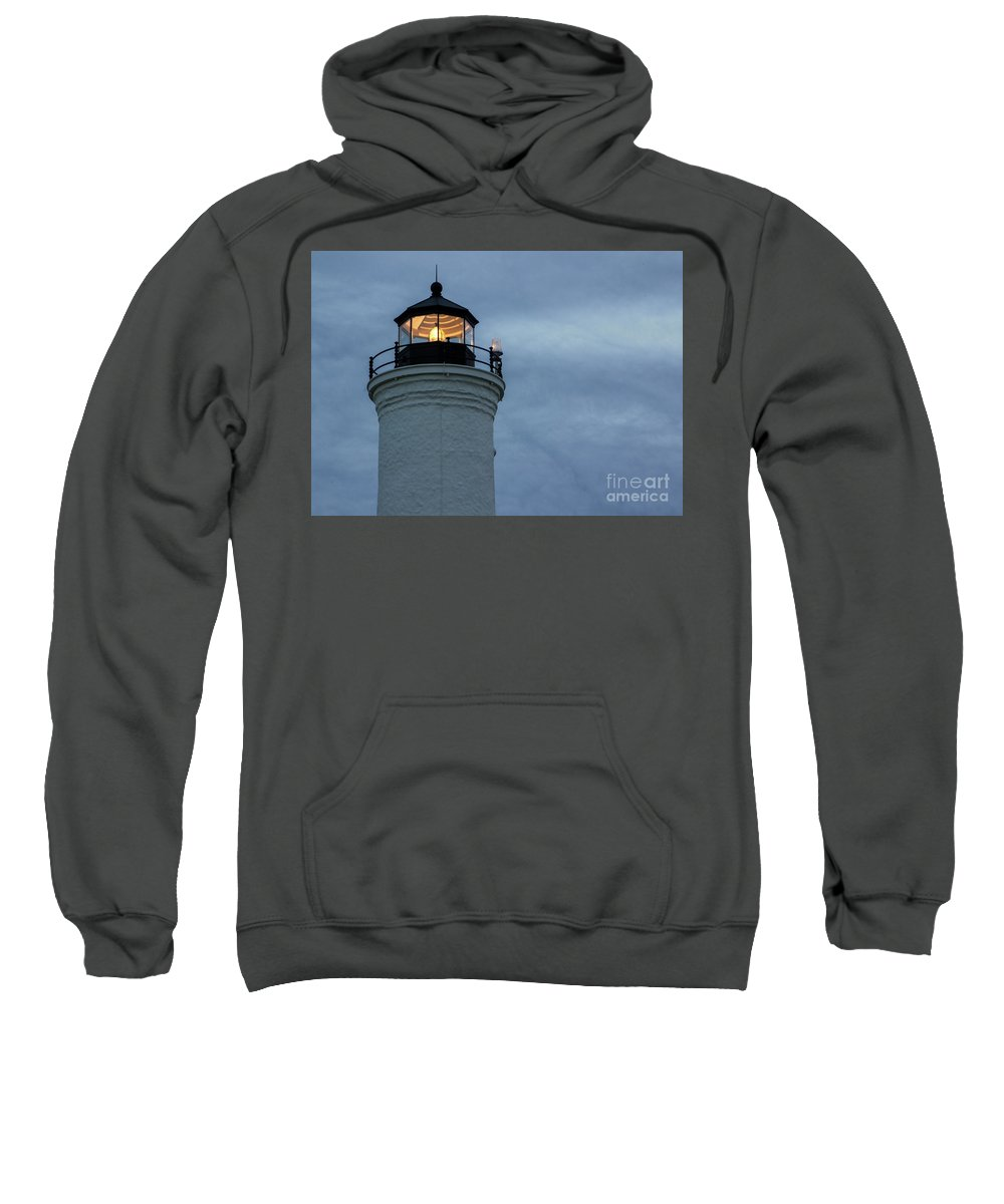 Lighthouse Sweatshirt featuring the photograph Illumination by Rod Best