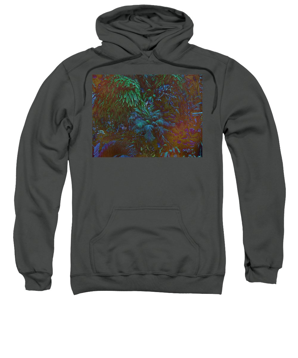 Leaves Sweatshirt featuring the photograph Imagination Leafing Out by Mother Nature
