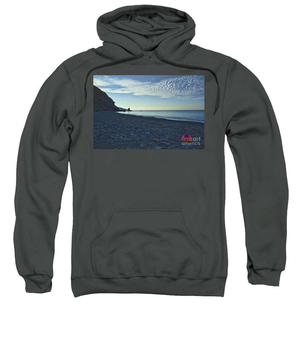 Crete Sweatshirt featuring the photograph In Search Of Atlantis-5 by Casper Cammeraat