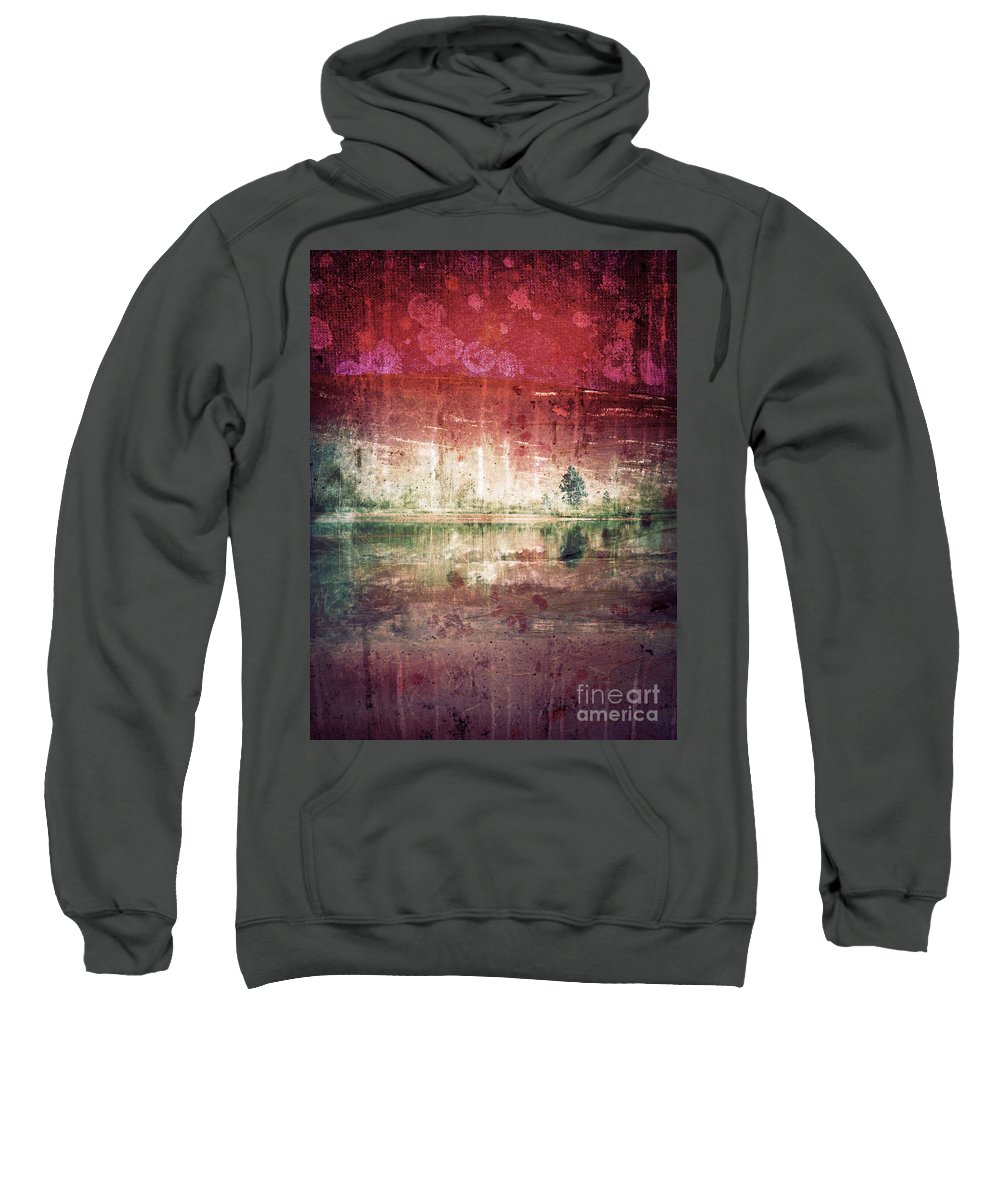 Tree Sweatshirt featuring the photograph In The Middle by Tara Turner