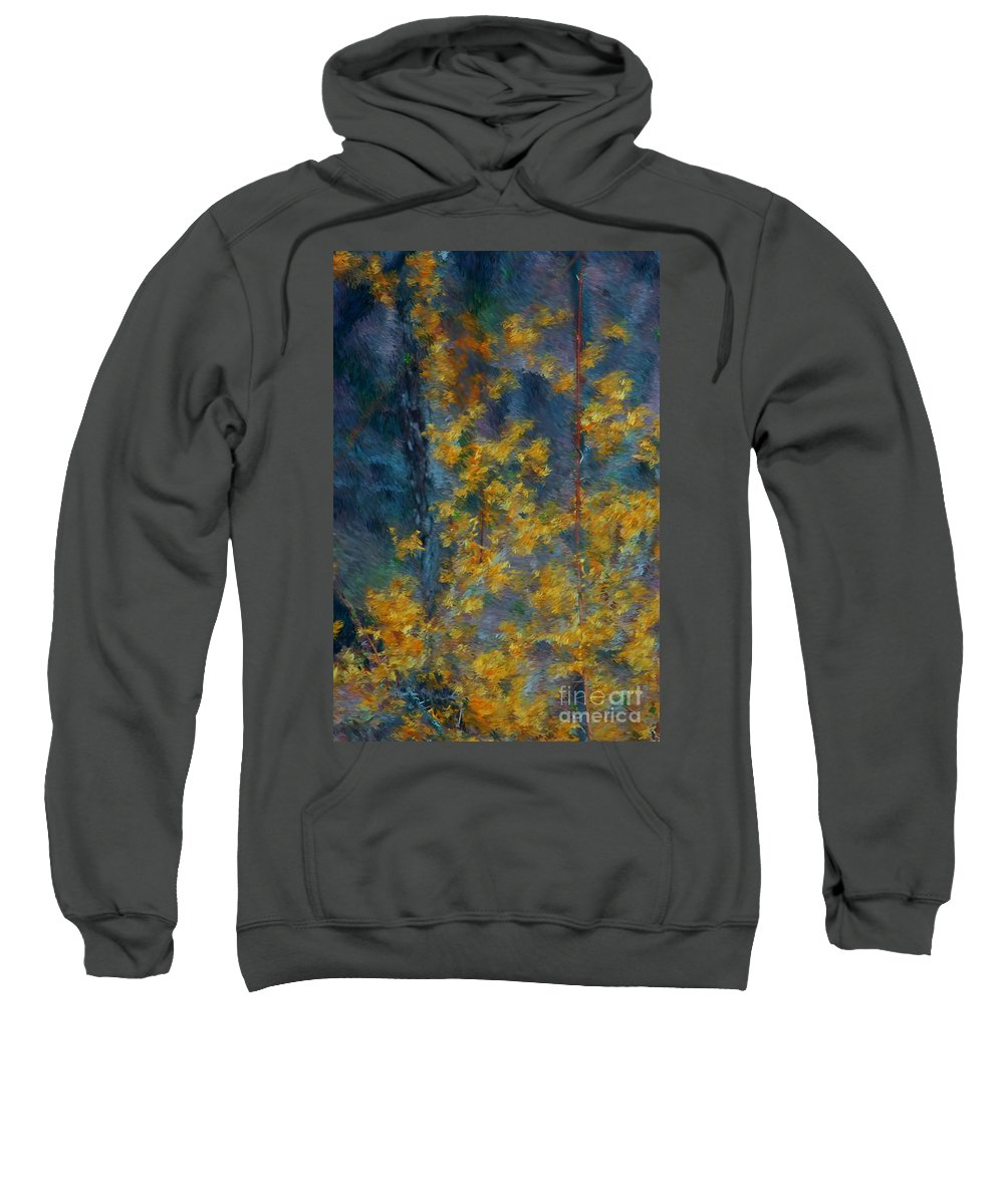 Sweatshirt featuring the photograph In The Woods by David Lane