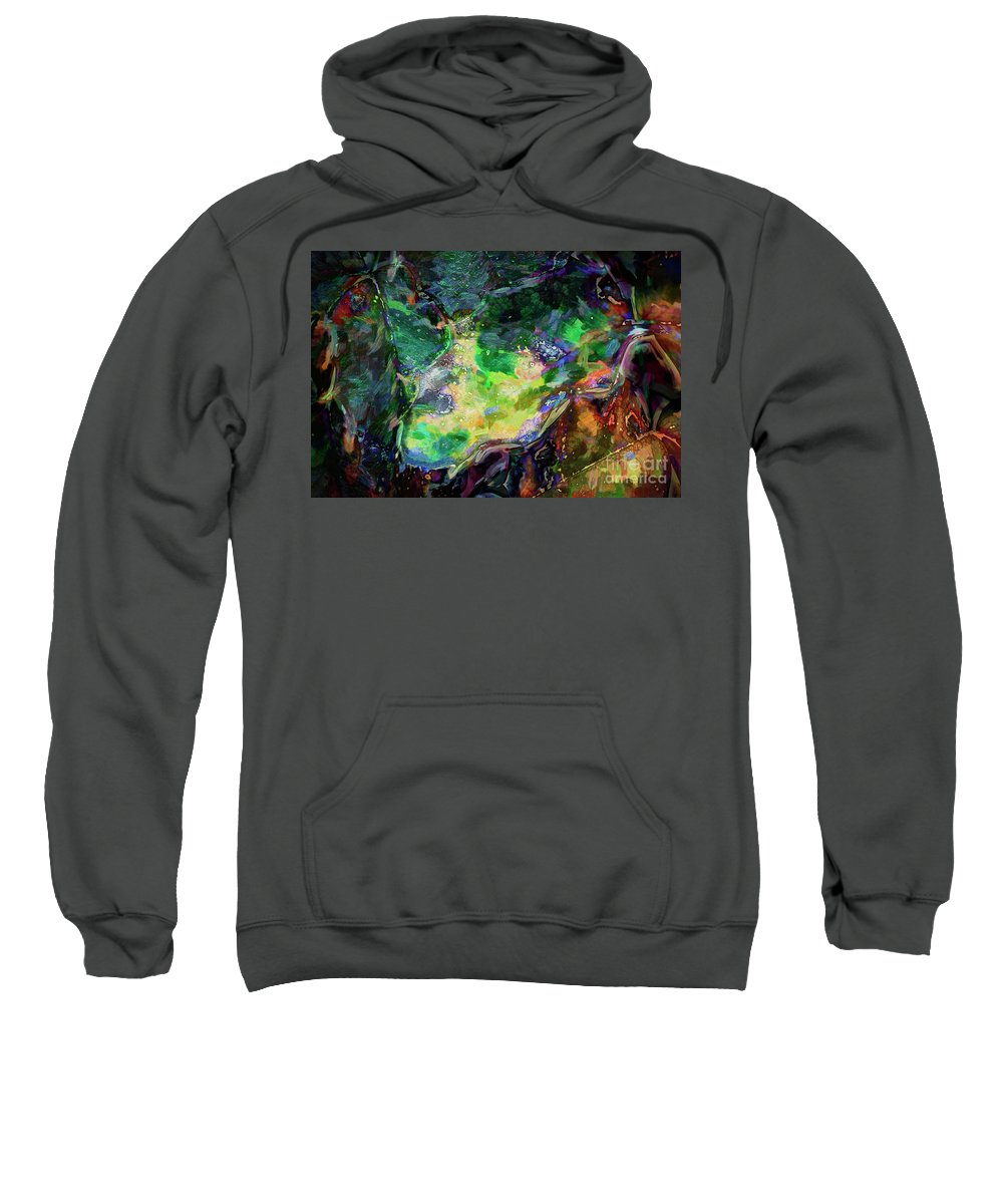Abstract Sweatshirt featuring the photograph In Tune With Nature by Davy Cheng