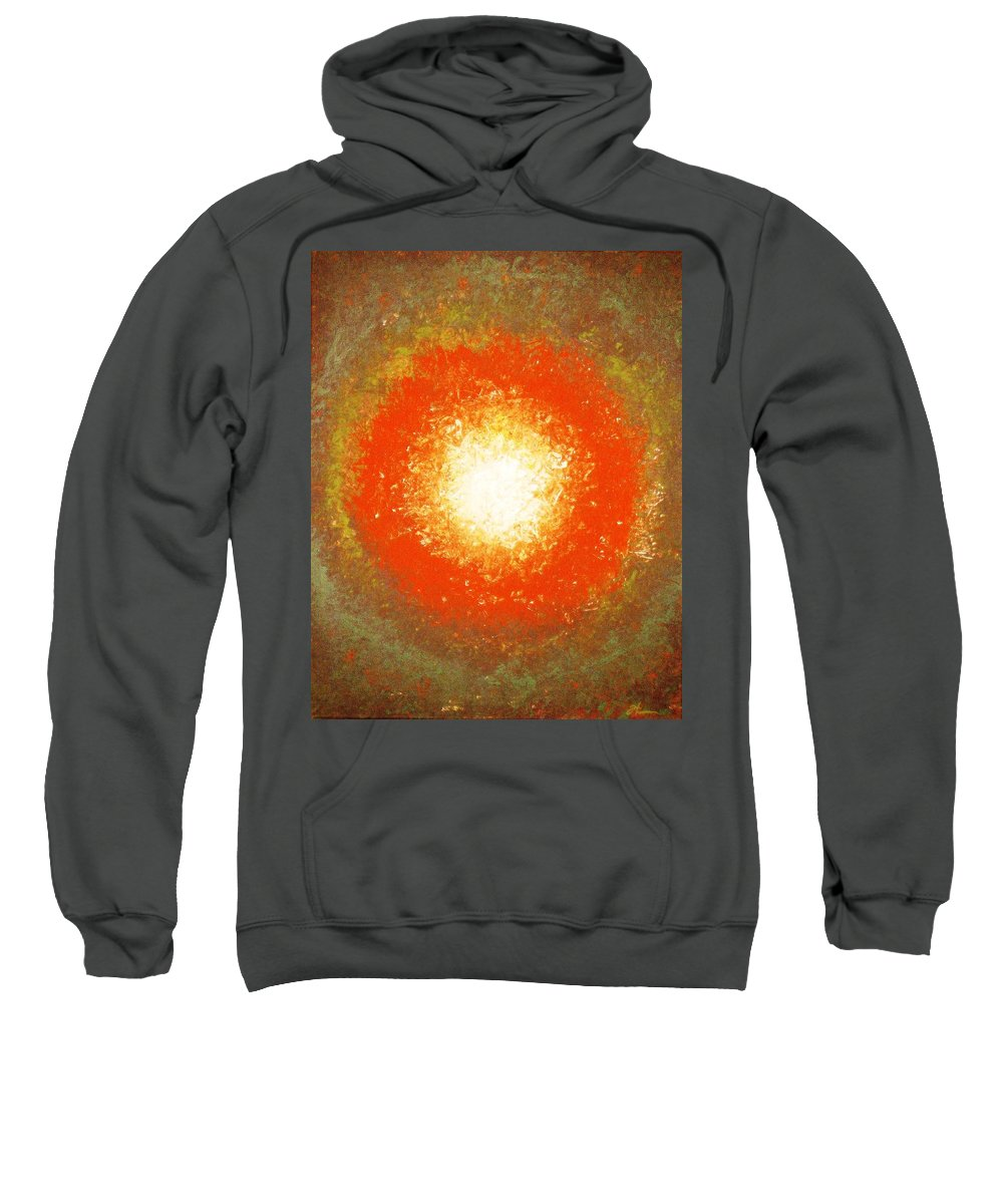 Original Sweatshirt featuring the painting Inception by Todd Hoover