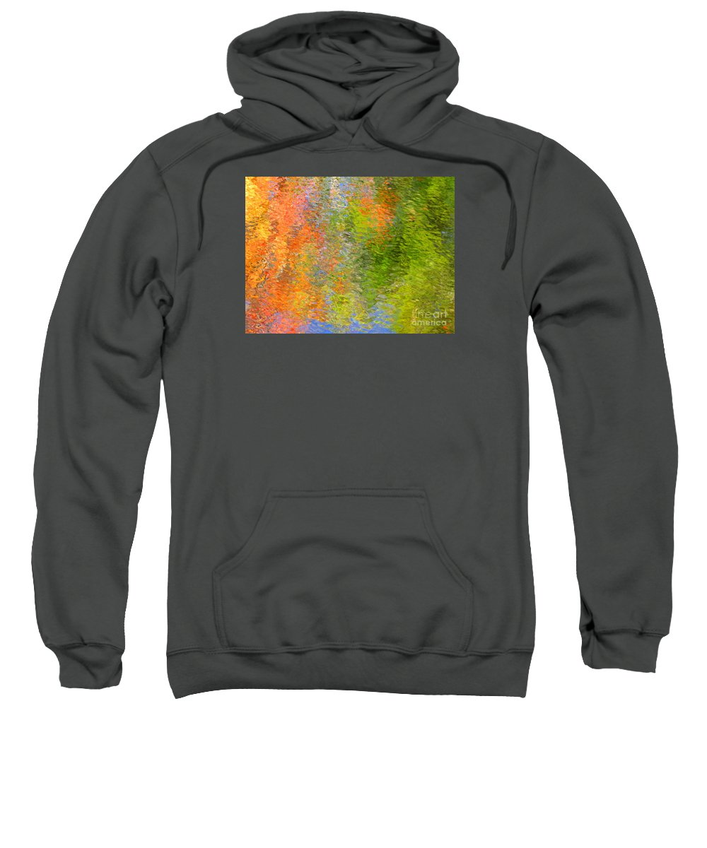 Abstract Sweatshirt featuring the photograph Otherwise Quiescent by Sybil Staples