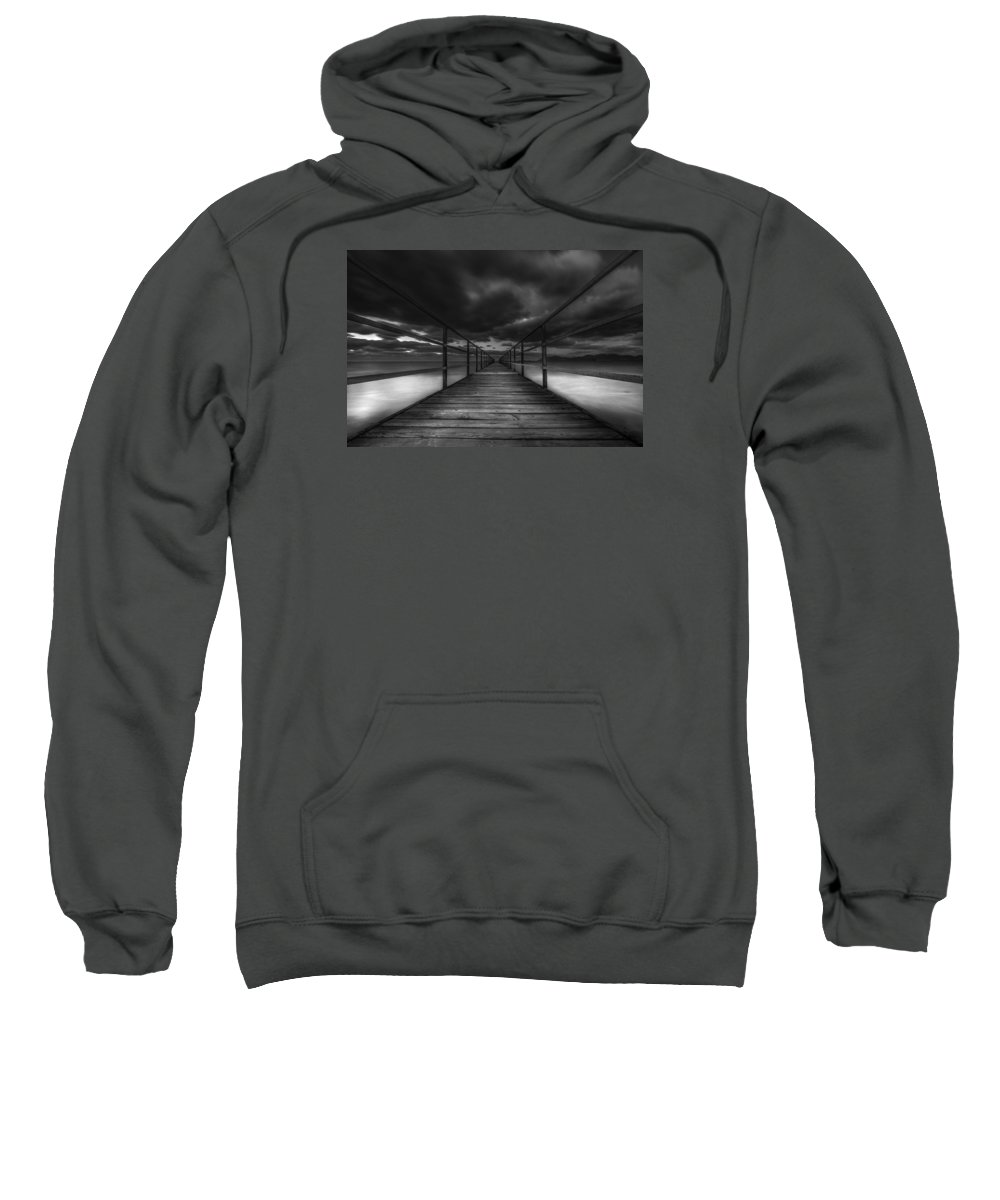 Art Sweatshirt featuring the photograph Infinity by Mike Drosos