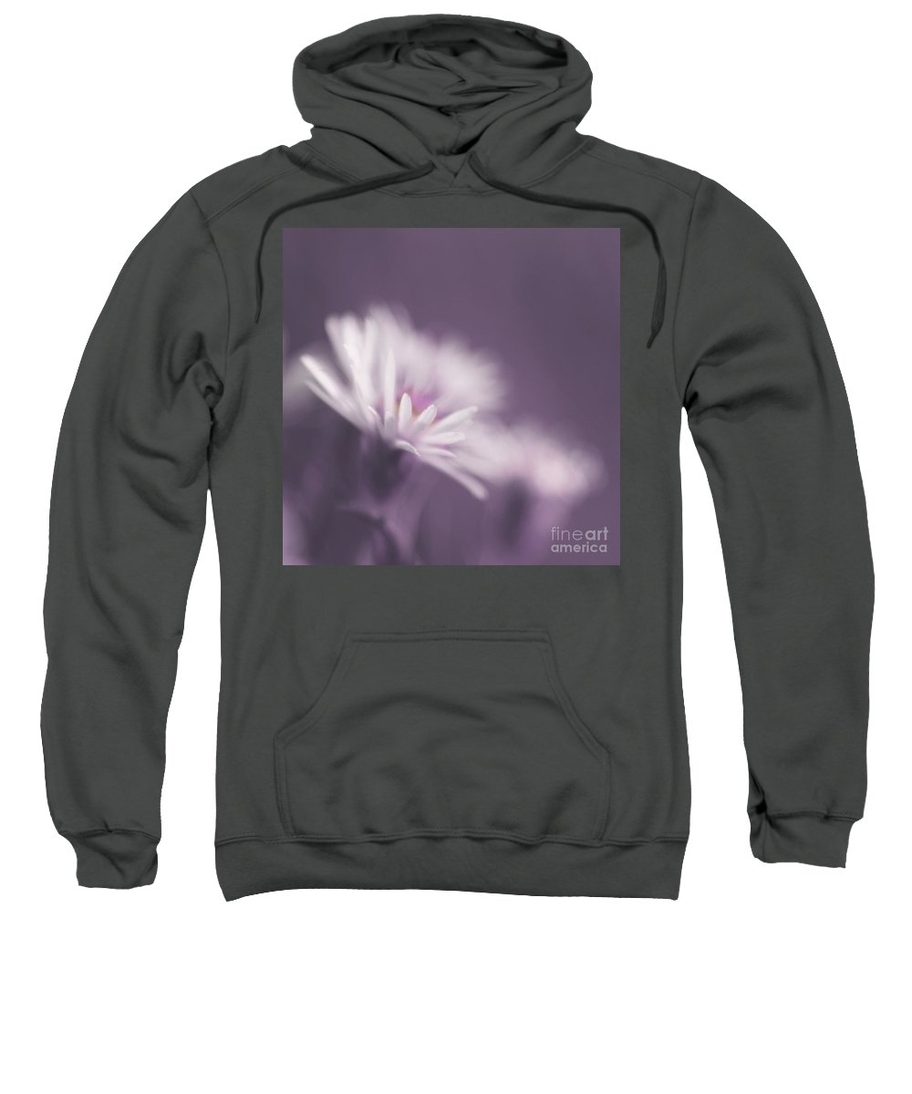 Flower Sweatshirt featuring the photograph Innocence - Pp by Aimelle