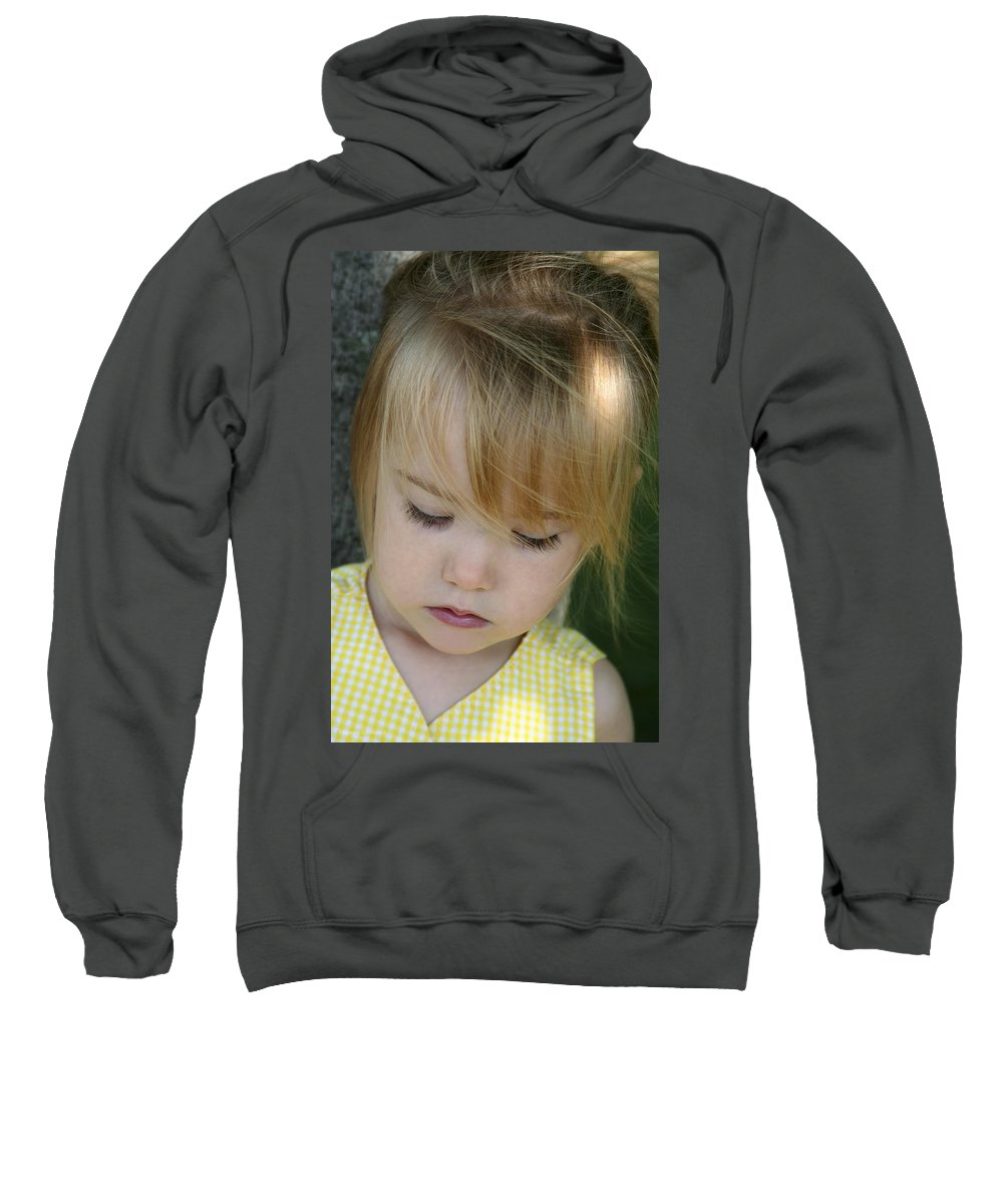 Angelic Sweatshirt featuring the photograph Innocence II by Margie Wildblood