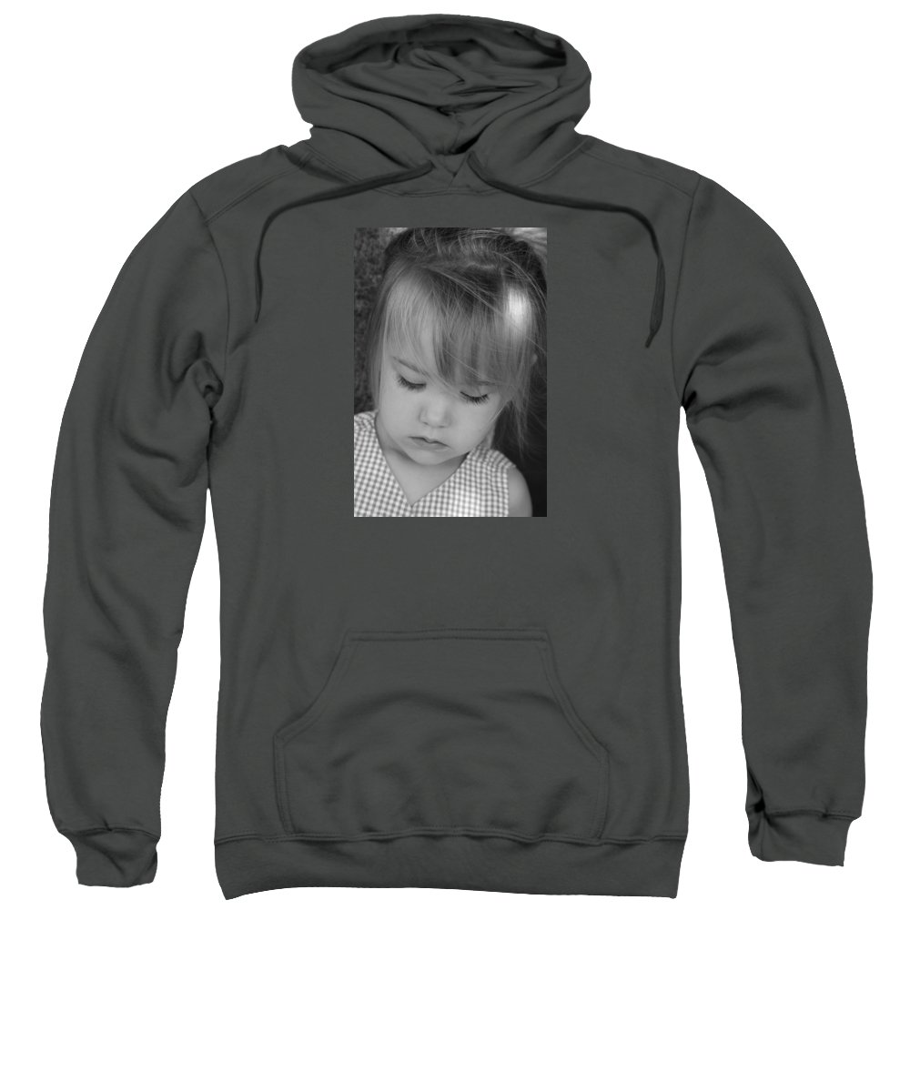 Angelic Sweatshirt featuring the photograph Innocence by Margie Wildblood