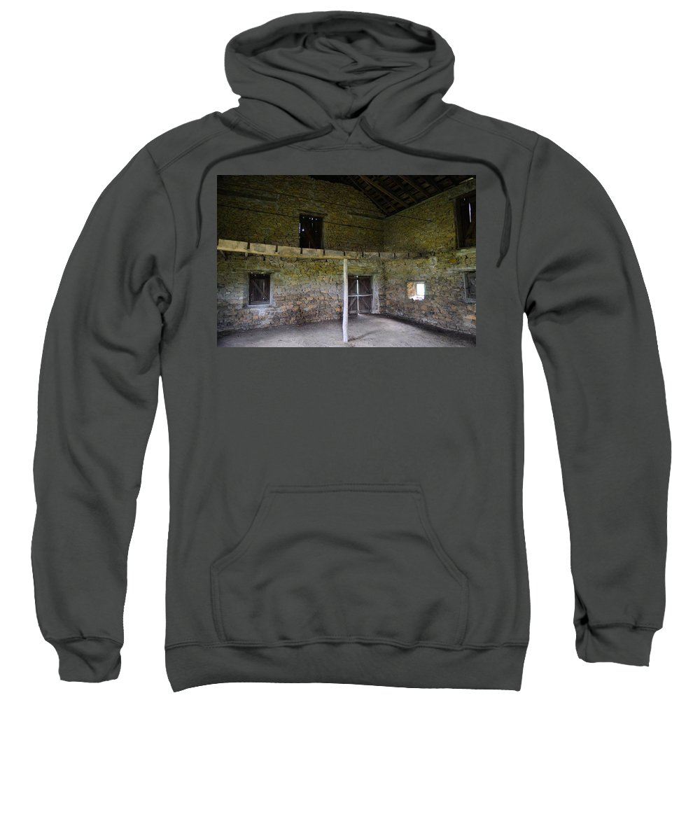 Fort Sweatshirt featuring the photograph Inside Severson by Bonfire Photography