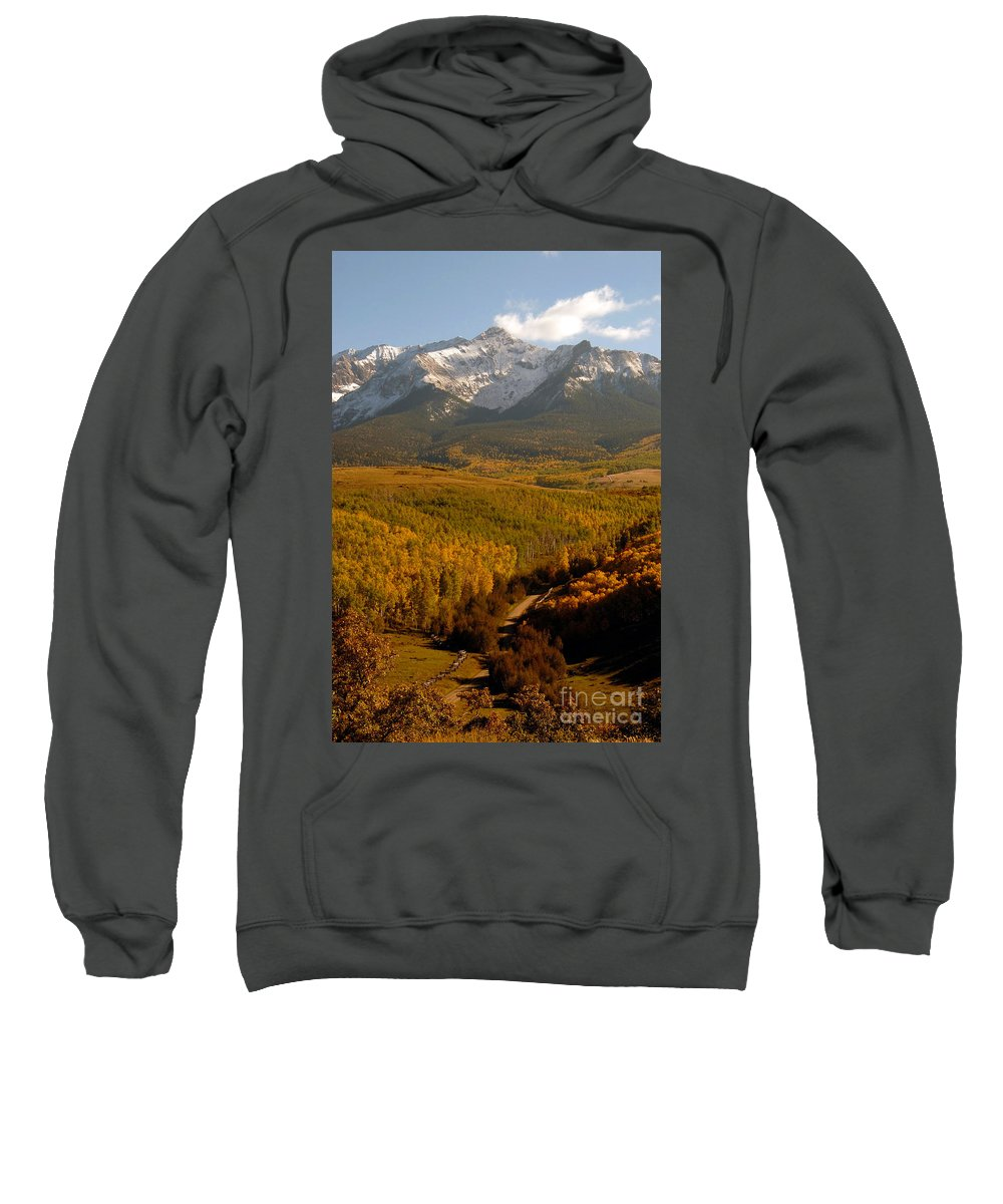 San Juan Mountains Sweatshirt featuring the photograph Into The Mountains by David Lee Thompson