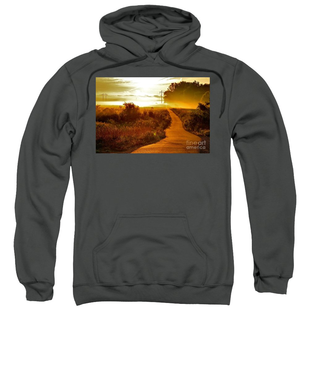 Landscape Sweatshirt featuring the photograph Into The Unknown by Robert Pearson