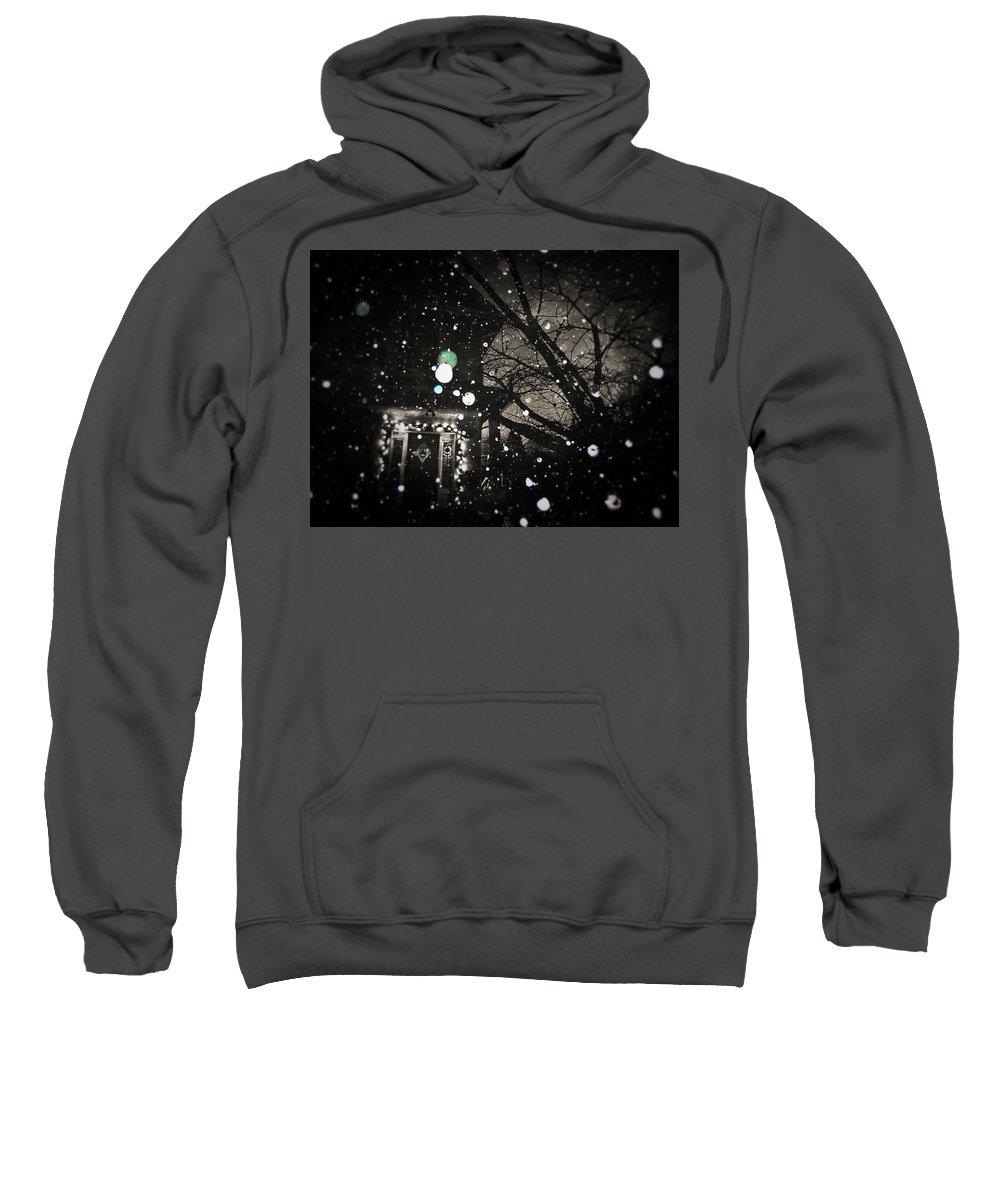 Winter Sweatshirt featuring the photograph Inverno Eterno by Jennifer Kuehne