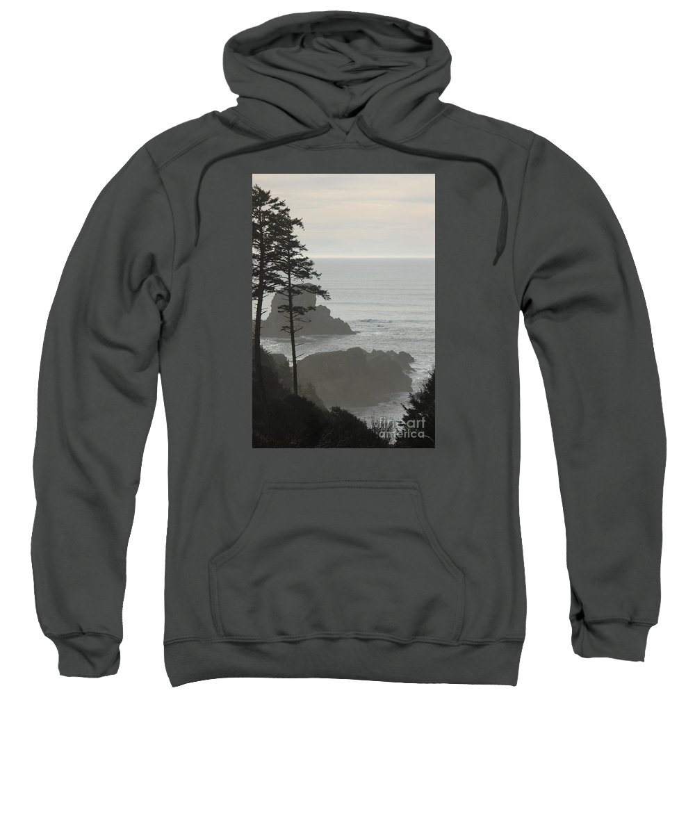 Islands In The Mist Sweatshirt featuring the photograph Islands In The Mist by Tanya Shockman