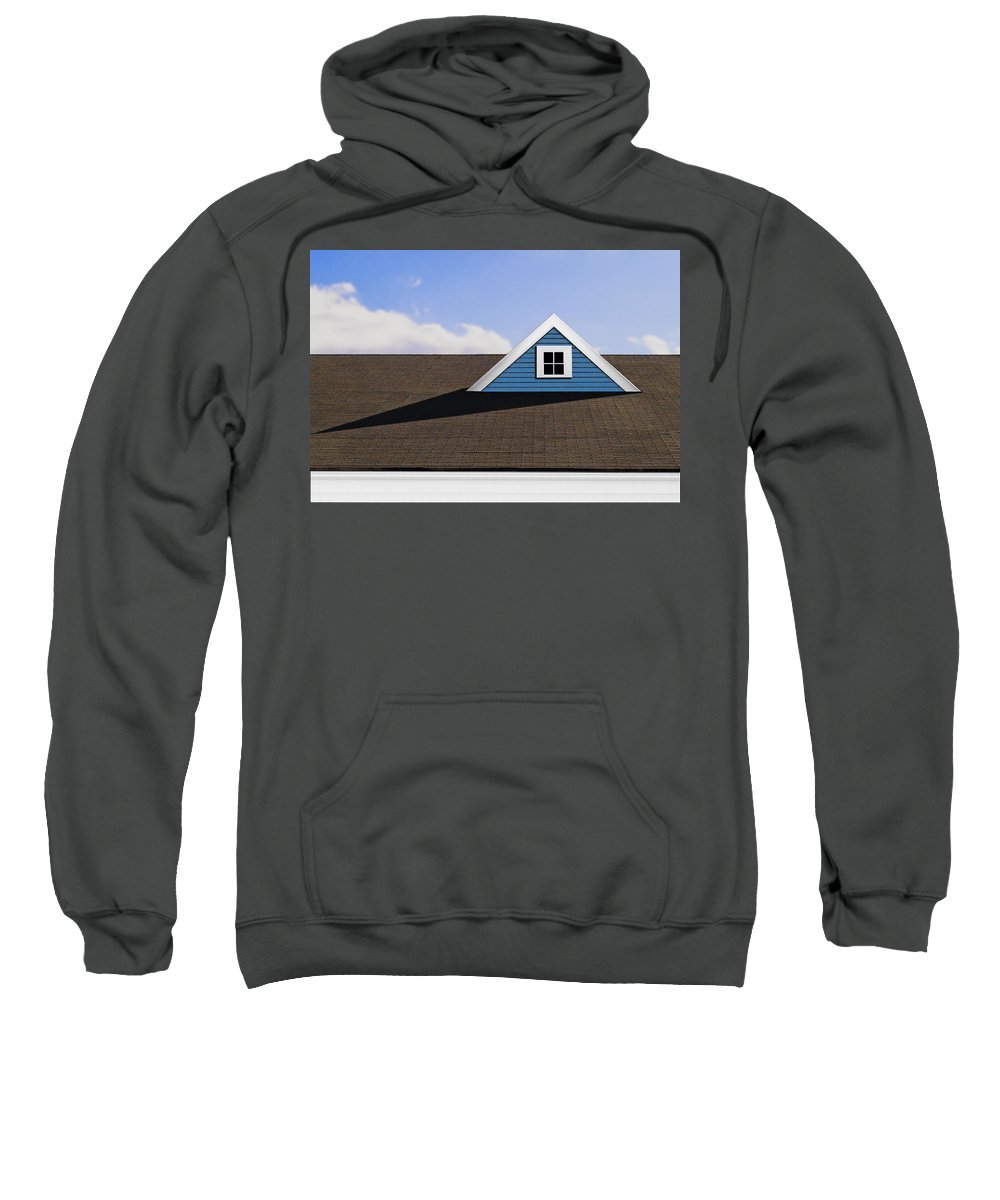 Photography Sweatshirt featuring the photograph Isosceles by Paul Wear