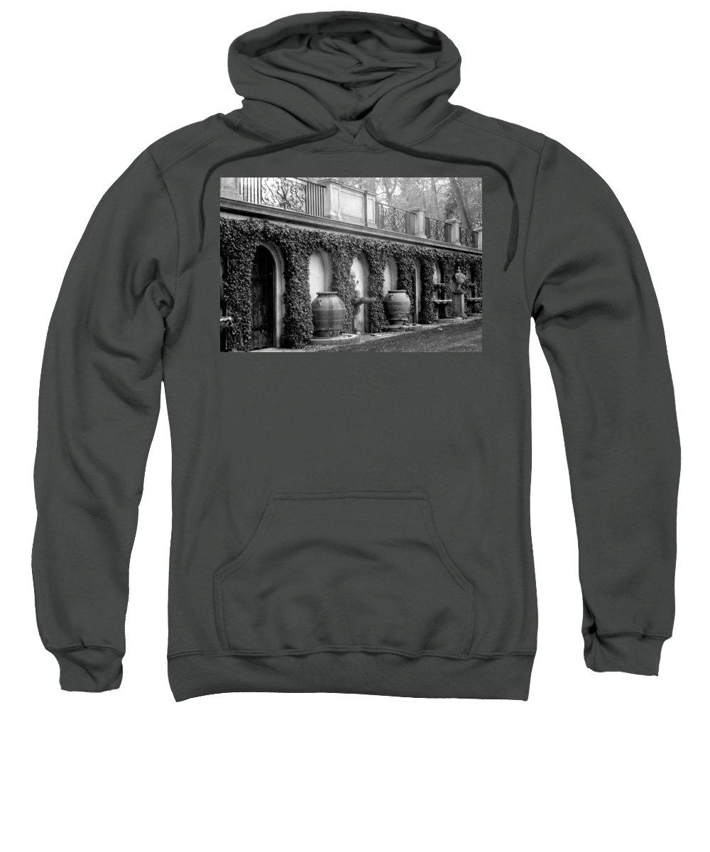 Italian Sweatshirt featuring the photograph Italian Garden by Deborah Crew-Johnson