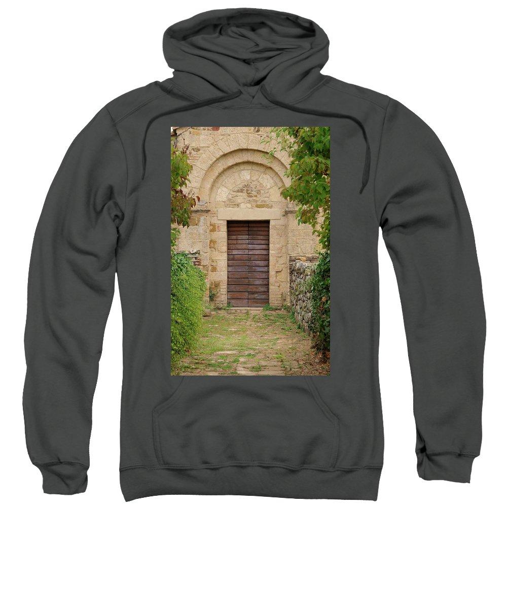 Italy Sweatshirt featuring the photograph Italy - Door Twenty Five by Jim Benest