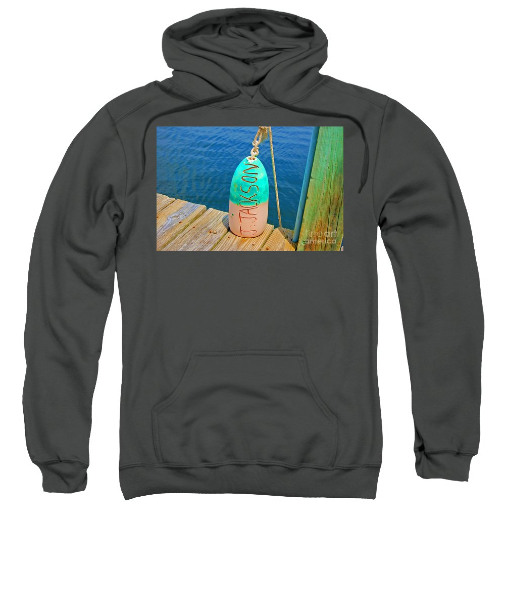 Water Sweatshirt featuring the photograph Its A Buoy by Debbi Granruth