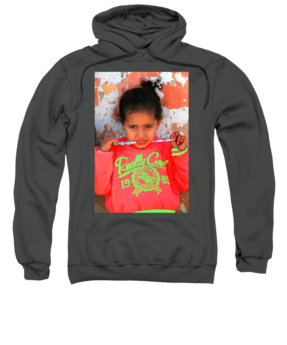 Dahar Sweatshirt featuring the photograph Jagudia by Jez C Self