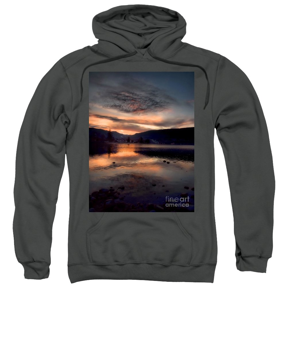 Clouds Sweatshirt featuring the photograph January 16 2010 by Tara Turner