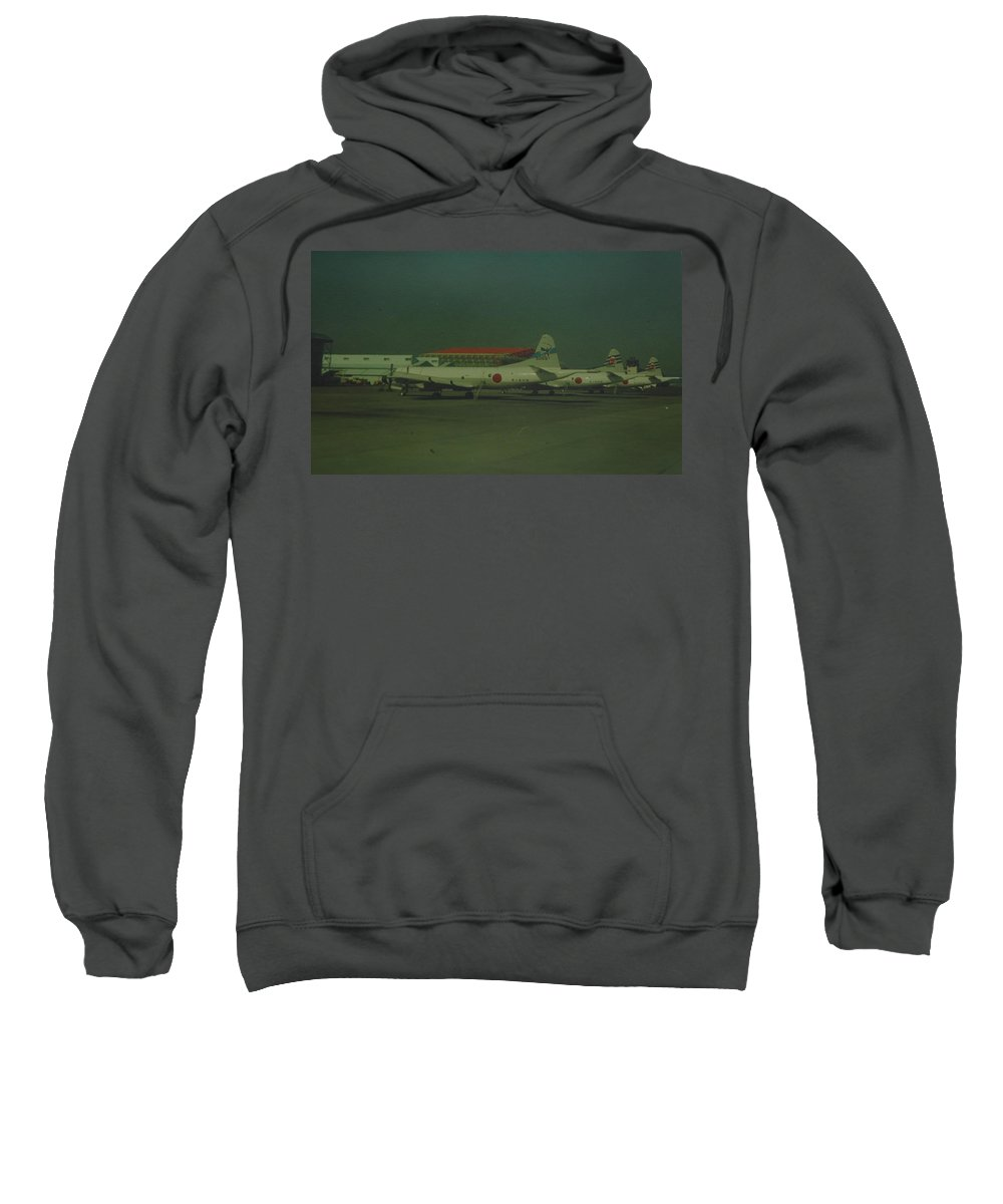 Airplane Sweatshirt featuring the photograph Japanese Airforce by Rob Hans