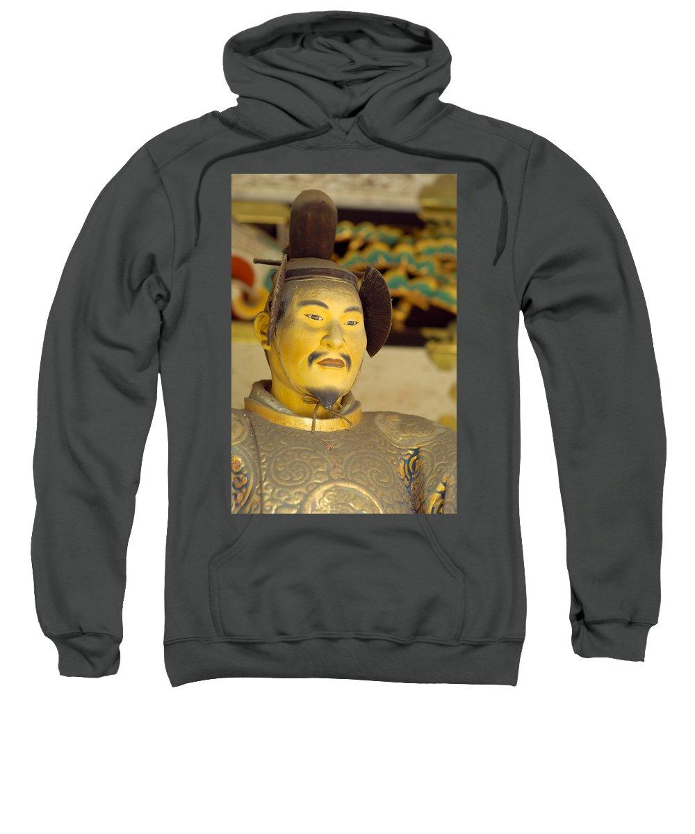 Japan Sweatshirt featuring the photograph Japanese Warrior by Sebastian Musial