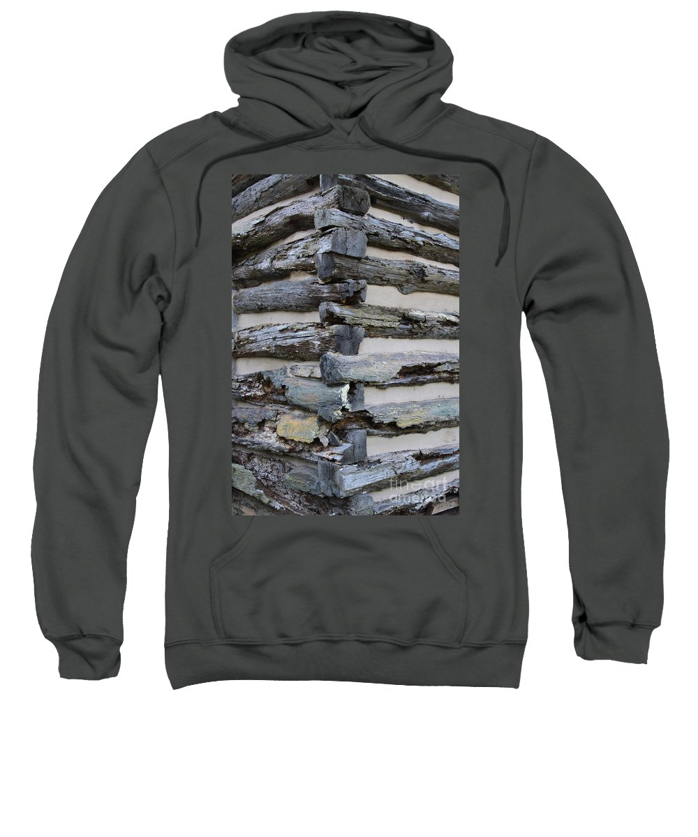Cabin Sweatshirt featuring the photograph Jiont-ing by Robert Pearson