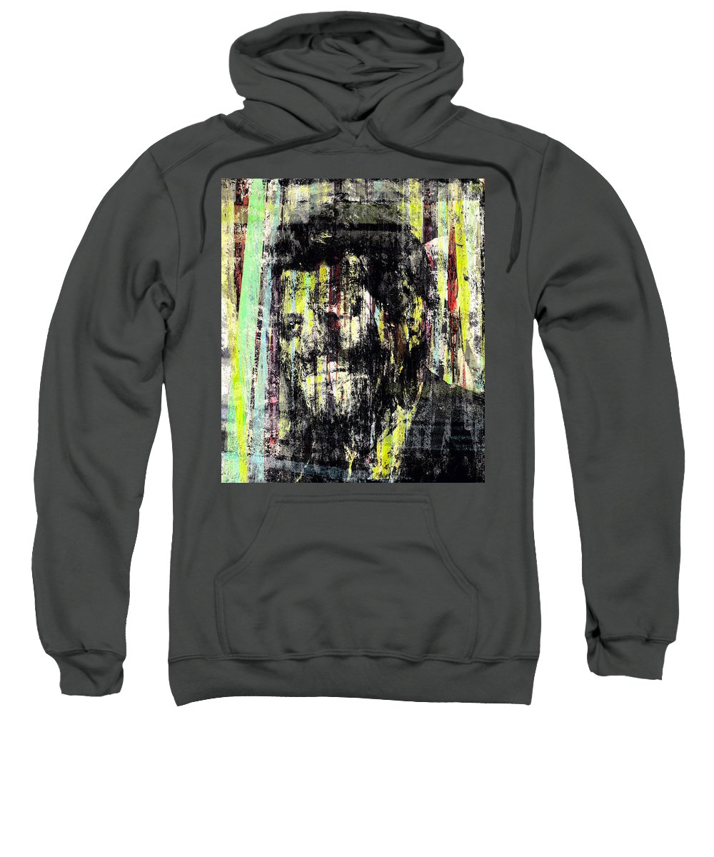 Sweatshirt featuring the painting John.f Kennedy by Kamran Rouhani
