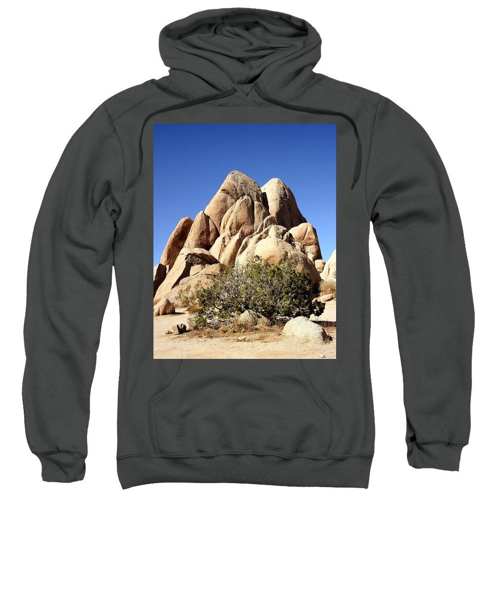 Joshua Tree Sweatshirt featuring the photograph Joshua Tree Center by William Dey