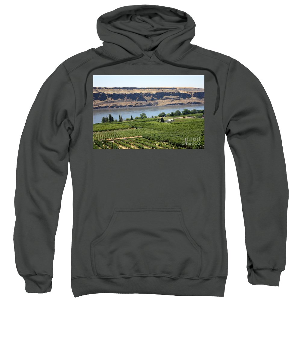Columbia River Gorge Sweatshirt featuring the photograph Just Add Water... by Carol Groenen