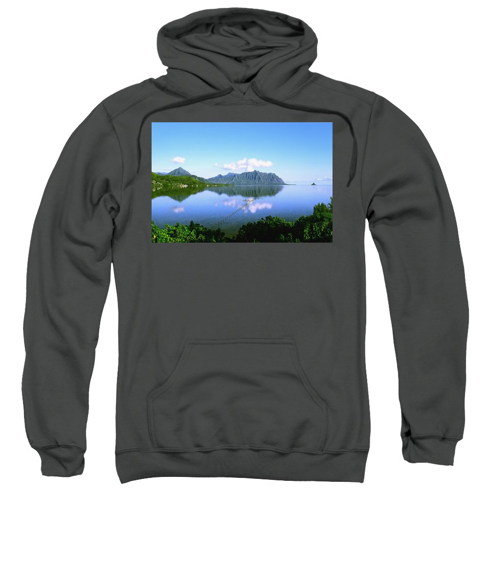 Kaneohe Bay Sweatshirt featuring the photograph Kaneohe Bay by Kevin Smith