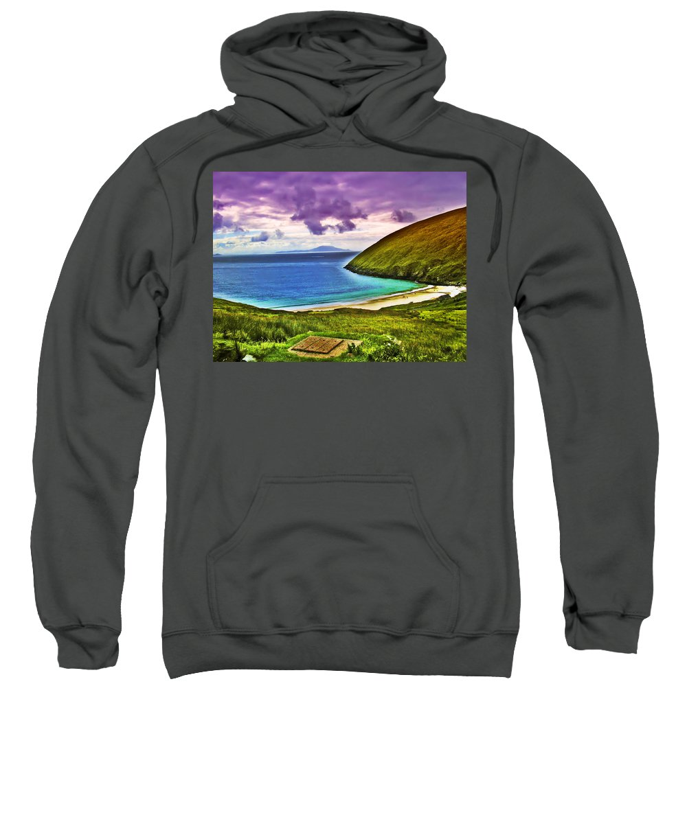 Keem Bay Sweatshirt featuring the photograph Keem Bay - Ireland by Bill Cannon