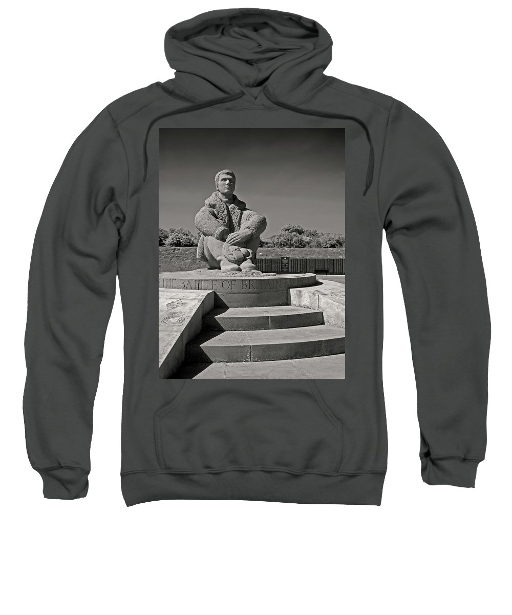 Battle Of Britain Sweatshirt featuring the photograph Keeping Watch by Bel Menpes