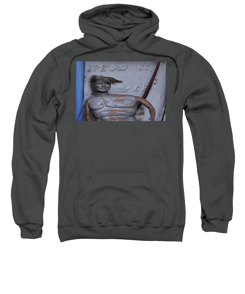 Photo Sweatshirt featuring the photograph Ken Stretches by Susan Jacob