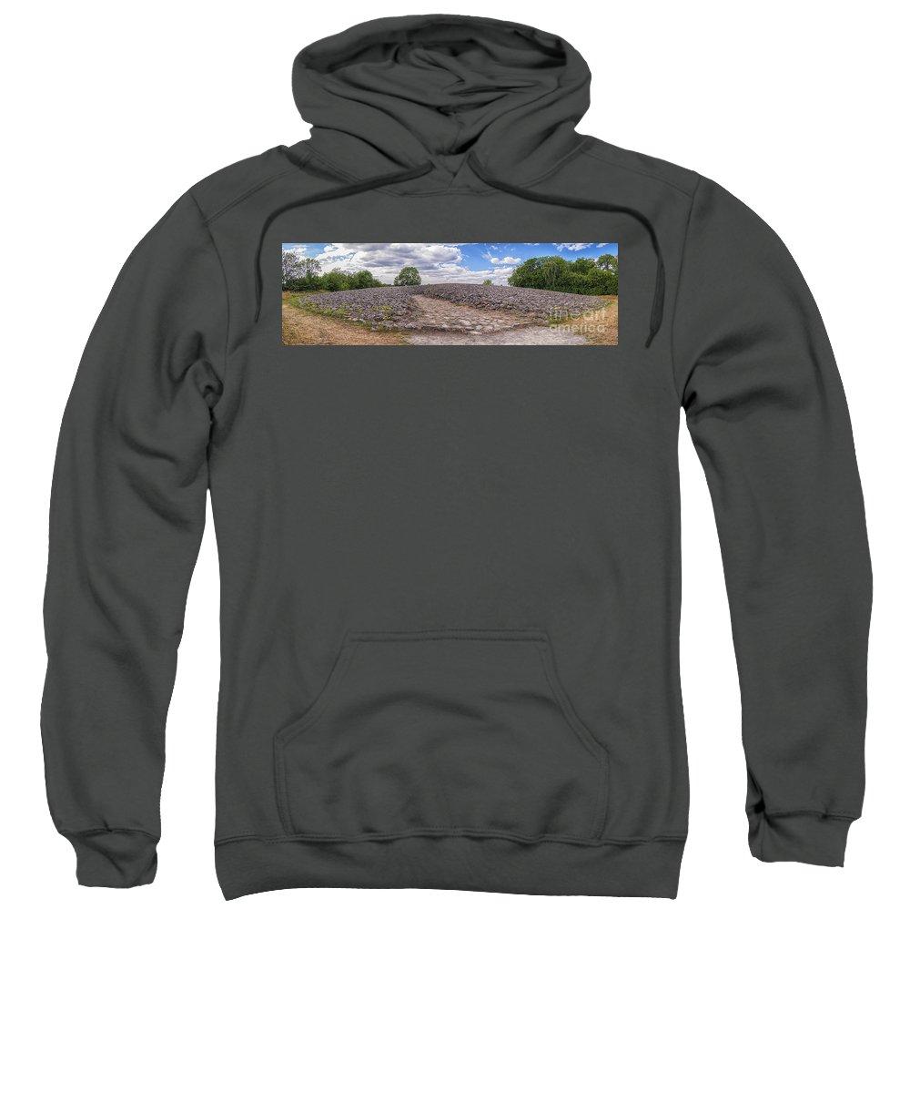 Kiviksgraven Sweatshirt featuring the photograph Kiviksgraven by Antony McAulay