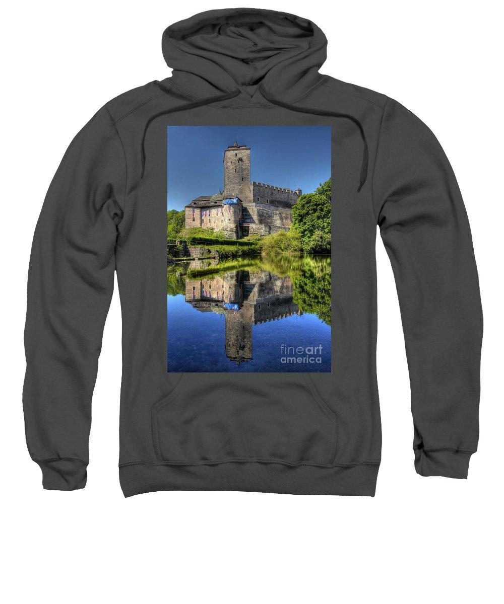 Kost Sweatshirt featuring the photograph Kost Castle by Michal Boubin
