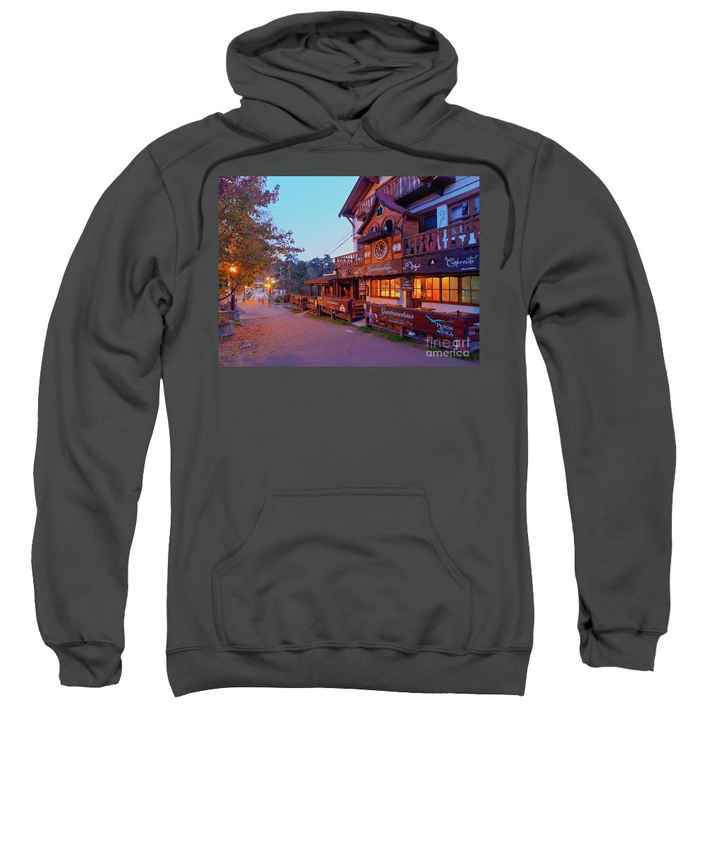 South America Sweatshirt featuring the photograph La Cumbrecita, Argentina by Karol Kozlowski