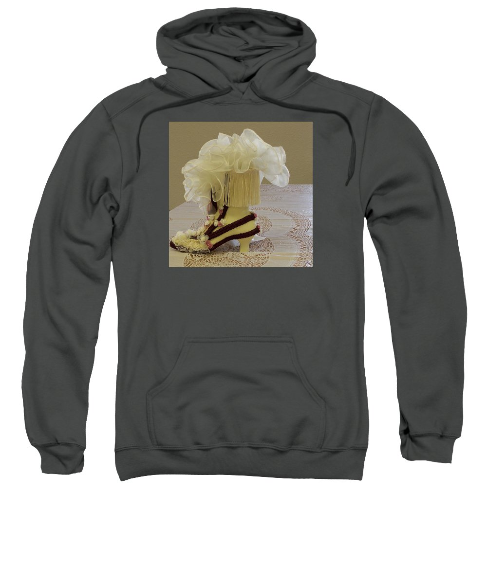 Digital Photography Sweatshirt featuring the photograph Ladies Tea Iv by Laurie Kidd