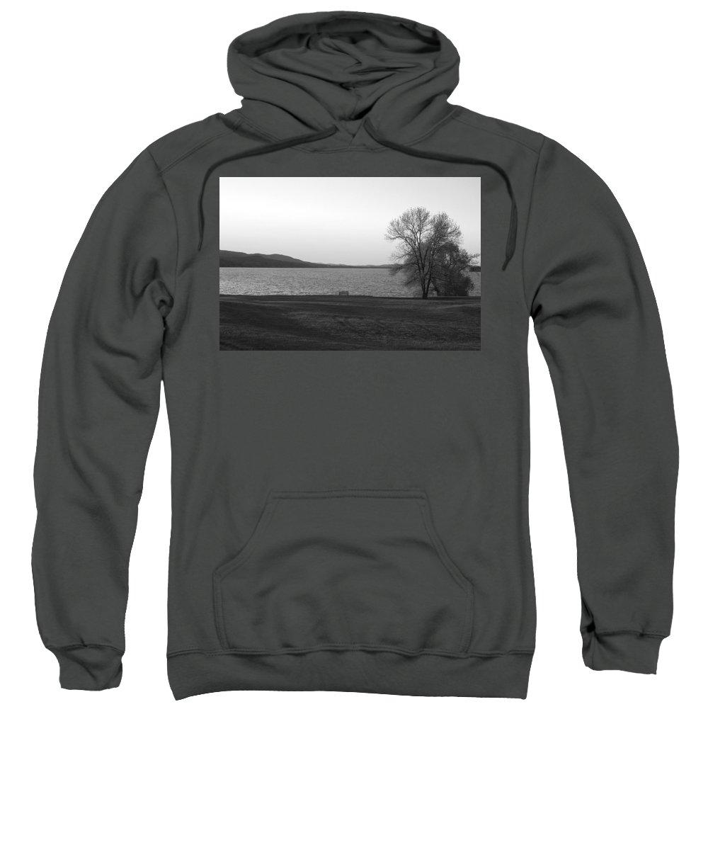 Lake Sweatshirt featuring the photograph Lake Champlain by Henri Irizarri