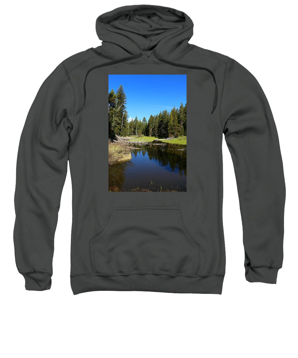 Lake Sweatshirt featuring the photograph Lake Dreams by Christiane Schulze Art And Photography